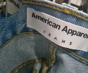 jeans, american apparel, and aesthetic image