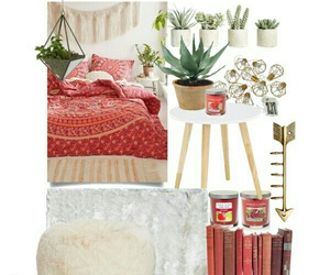 bedroom, urbanoutfiters, and design image