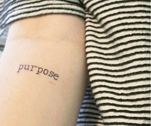 purpose and tattoo image