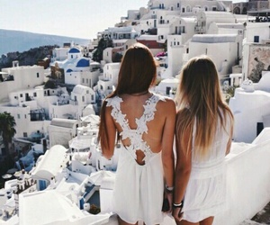 friends, Greece, and goals image