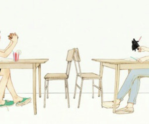 cafe, deviantart, and hamburger image