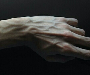 alone, emo, and hand image