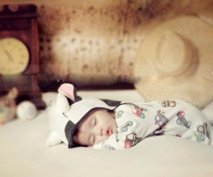 babe, sleep, and cute image