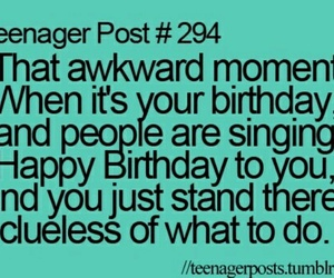 funny, birthday, and teenager post image
