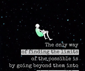 impossible, quotes, and life image