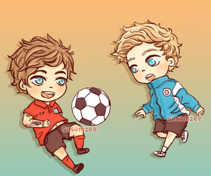 futbol, louis, and niall image