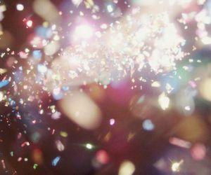 light, glitter, and sparkle image