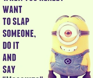 minions, funny, and mosquito image
