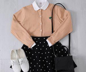 casual, korean, and fashion image
