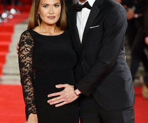 gareth bale and emma rhys-jones image