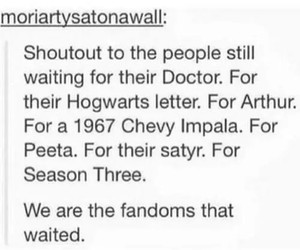 doctor who, fandom, and harry potter image