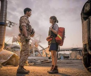 song hye kyo, descendants of the sun, and song joong ki image
