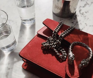 red and accessories image