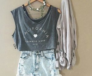 fashion, outfit, and california image