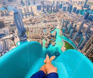 Dubai, city, and summer image