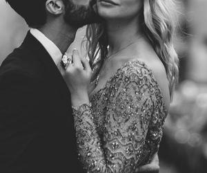 love, dress, and kiss image