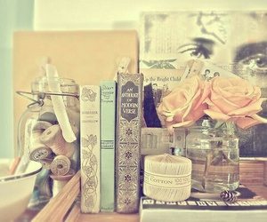 book, lifestyle, and vintage image