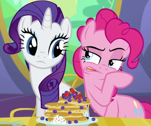 cake, my little pony, and pinkie pie image