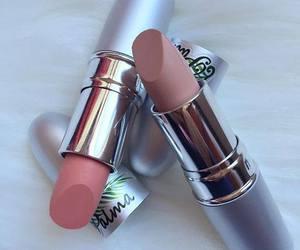 lips, lipstick, and make up image