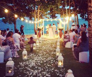 wedding, light, and couple image