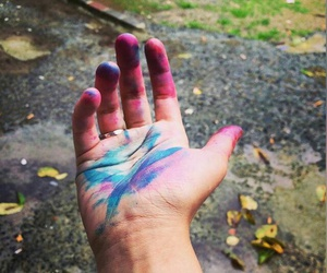 colorful, dreams, and hand image