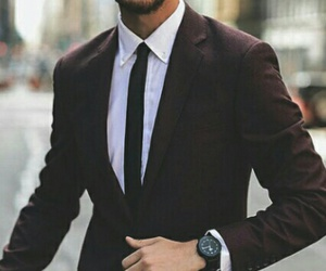 suit, man, and boy image