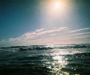 analog, beach, and california image