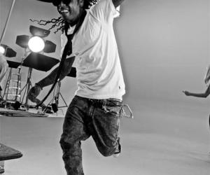 black and white, lil wayne, and young money image