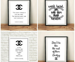 etsy, bedroom pictures, and chanel logo image