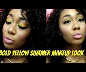 video, summer makeup, and makeup tutorials image