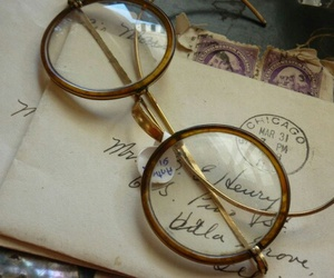 glasses, tumblr, and vintage image