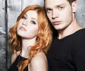 shadowhunters, clace, and clary image