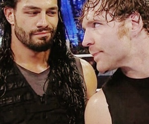 roman reigns and dean ambrose image