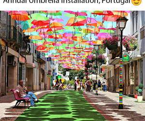 beautiful, portugal, and colors image