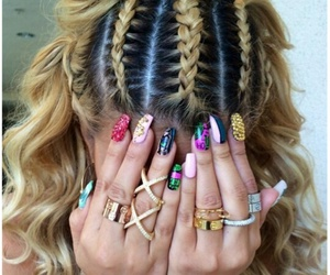 girl, haïr, and nails image