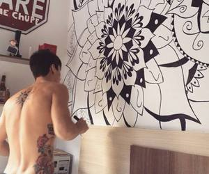 desenho, tatoo, and boy image