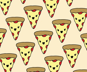 pizza, wallpaper, and pattern image