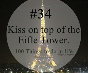 paris, eifle tower, and kiss image