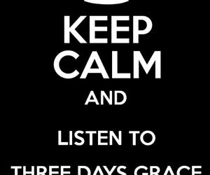 music, three days grace, and tdg image