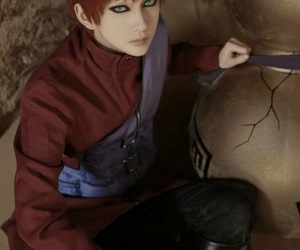 gaara, cosplay, and naruto image