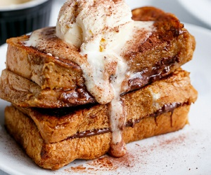 food, dessert, and bread image