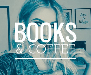 books, coffee, and edition image