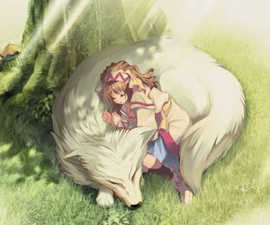 manga and wolf image
