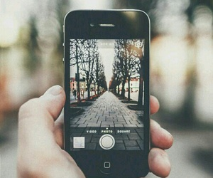 camera, iphone, and city image