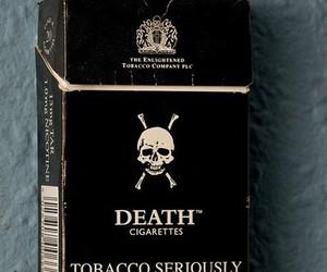 cigarette, death, and tobacco image