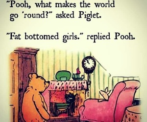 piglet, Queen, and winnie the pooh image