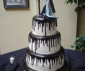 cake, corpse bride, and tim burton image