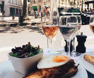food, tasty, and wine image