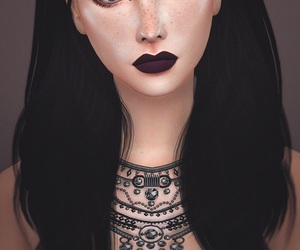 fashion, lookbook, and sims image