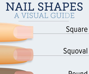 nails and shape image